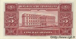 5 Guaranies PARAGUAY  1952 P.186c SUP+