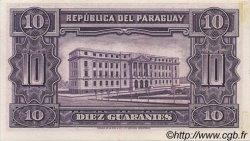 10 Guaranies PARAGUAY  1952 P.187a SPL+