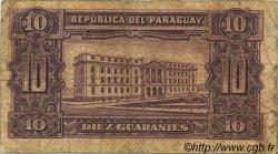 10 Guaranies PARAGUAY  1952 P.187c B+