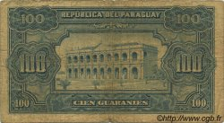 100 Guaranies PARAGUAY  1952 P.189a B