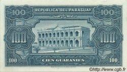 100 Guaranies PARAGUAY  1952 P.189a SPL+