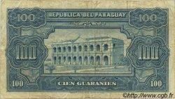 100 Guaranies PARAGUAY  1952 P.189b TB