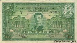100 Guaranies PARAGUAY  1952 P.189b TTB