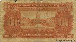 1000 Guaranies PARAGUAY  1952 P.191b B