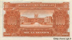 1000 Guaranies PARAGUAY  1952 P.191b SPL