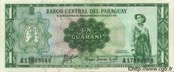 1 Guarani PARAGUAY  1963 P.193a pr.SPL