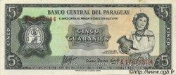 5 Guaranies PARAGUAY  1963 P.195b SUP