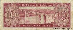 10 Guaranies PARAGUAY  1963 P.196a TTB