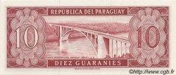 10 Guaranies PARAGUAY  1963 P.196a NEUF