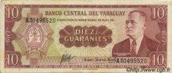 10 Guaranies PARAGUAY  1963 P.196b TTB