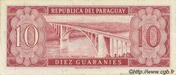 10 Guaranies PARAGUAY  1963 P.196b SPL