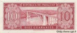 10 Guaranies PARAGUAY  1963 P.196b NEUF