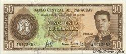 50 Guaranies PARAGUAY  1963 P.197a NEUF
