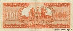 100 Guaranies PARAGUAY  1963 P.199a TTB