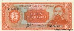 100 Guaranies PARAGUAY  1963 P.199b NEUF