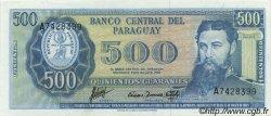 500 Guaranies PARAGUAY  1963 P.200b NEUF