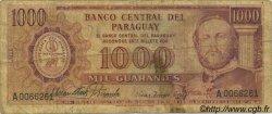 1000 Guaranies PARAGUAY  1963 P.201a B
