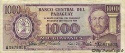 1000 Guaranies PARAGUAY  1963 P.201a TTB