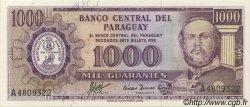 1000 Guaranies PARAGUAY  1963 P.201a NEUF