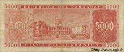 5000 Guaranies PARAGUAY  1963 P.202b pr.TB