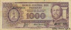 1000 Guaranies PARAGUAY  1982 P.207 TB