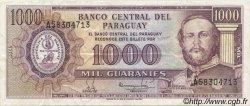 1000 Guaranies PARAGUAY  1982 P.207 SUP