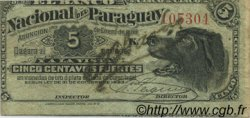 5 Centavos PARAGUAY  1886 PS.141 TTB