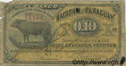 10 Centavos PARAGUAY  1886 PS.142 B