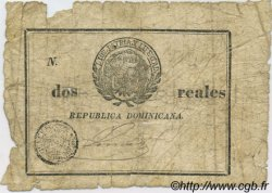 2 reales RÉPUBLIQUE DOMINICAINE  1844 P.-- (001) AB