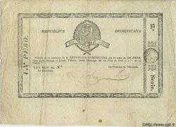 1 Peso RÉPUBLIQUE DOMINICAINE  1844 P.-- (002) TB+