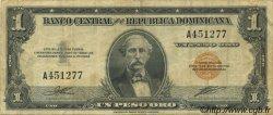1 Peso RÉPUBLIQUE DOMINICAINE  1947 P.060a TTB
