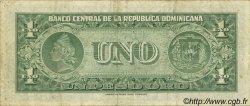 1 Peso RÉPUBLIQUE DOMINICAINE  1957 P.071 TTB
