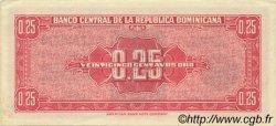 25 Centavos Oro RÉPUBLIQUE DOMINICAINE  1961 P.087a SPL