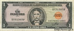 1 Peso Oro RÉPUBLIQUE DOMINICAINE  1964 P.099a TTB