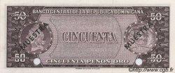 50 Pesos Oro RÉPUBLIQUE DOMINICAINE  1964 P.103s NEUF