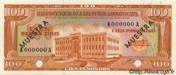 100 Pesos Oro RÉPUBLIQUE DOMINICAINE  1964 P.104s NEUF