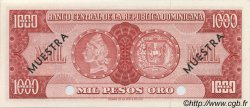 1000 Pesos Oro RÉPUBLIQUE DOMINICAINE  1964 P.106s NEUF