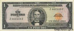 1 Peso Oro RÉPUBLIQUE DOMINICAINE  1975 P.108a SUP+