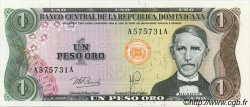 1 Peso Oro RÉPUBLIQUE DOMINICAINE  1978 P.116a NEUF