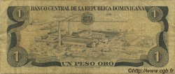 1 Peso Oro RÉPUBLIQUE DOMINICAINE  1982 P.117a pr.TB