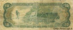 10 Pesos Oro RÉPUBLIQUE DOMINICAINE  1988 P.119c TB