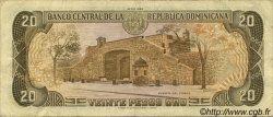 20 Pesos Oro RÉPUBLIQUE DOMINICAINE  1985 P.120c TTB