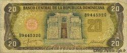 20 Pesos Oro RÉPUBLIQUE DOMINICAINE  1987 P.120c TB