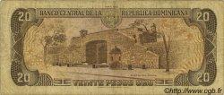 20 Pesos Oro RÉPUBLIQUE DOMINICAINE  1988 P.120c B+