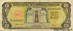 20 Pesos Oro RÉPUBLIQUE DOMINICAINE  1988 P.120c TTB