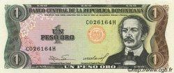 1 Peso Oro RÉPUBLIQUE DOMINICAINE  1984 P.126a pr.NEUF