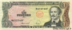1 Peso Oro RÉPUBLIQUE DOMINICAINE  1988 P.126a SUP