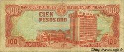 100 Pesos Oro RÉPUBLIQUE DOMINICAINE  1988 P.128a TB
