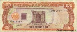 100 Pesos Oro RÉPUBLIQUE DOMINICAINE  1990 P.128b TTB