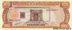 100 Pesos Oro RÉPUBLIQUE DOMINICAINE  1990 P.128b SUP+